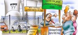 Gefährdete Arten: Nabu will VW und RWE vor dem Aussterben retten