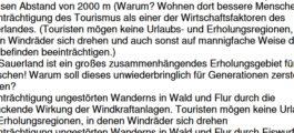 Sauerland oder Paderborner Land - Hauptsache zerstört!