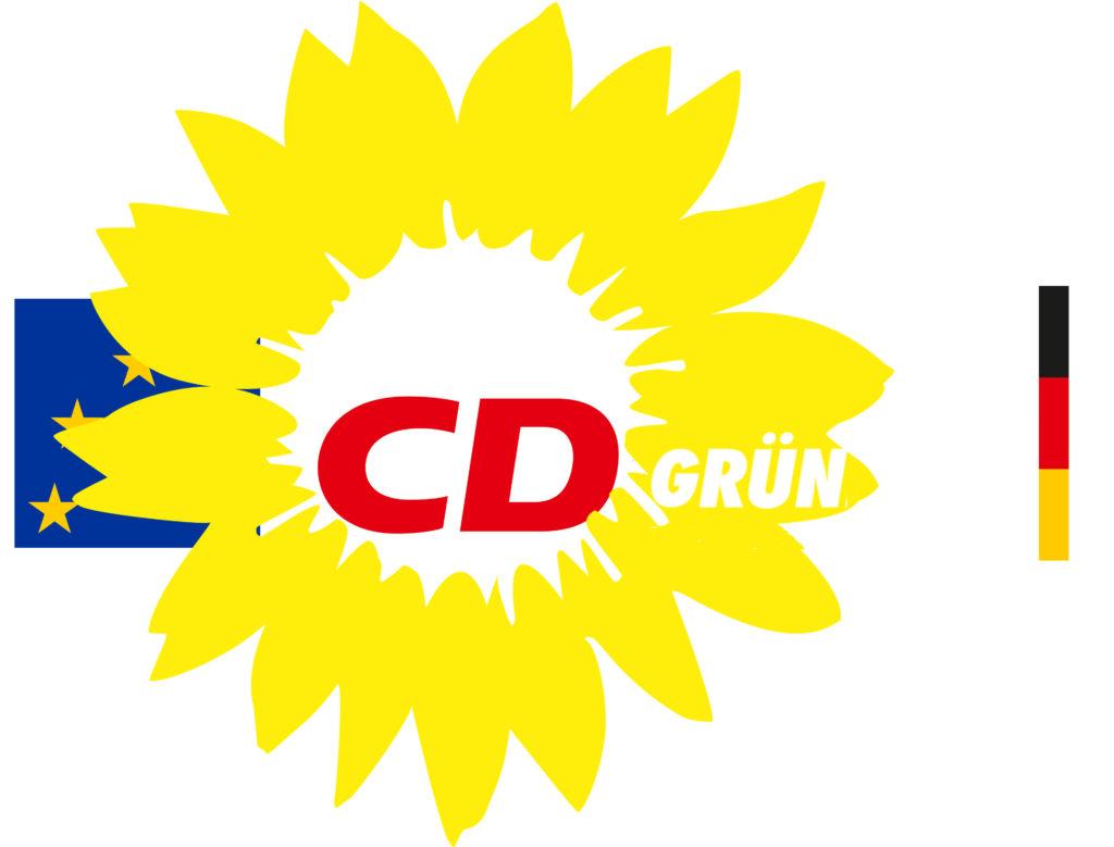 Das Logo der fusionierten CDGrün hat Angela Merkel bereits entworfen