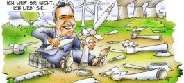 NRW-Minister Pinkwart: Er liebt die Windkraft, er liebt sie nicht